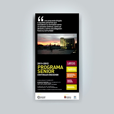 cartel diseño gráfico Universidad