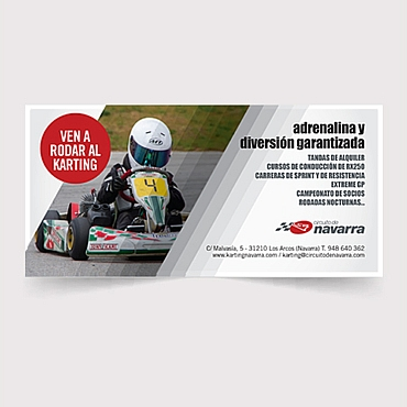 diseño flyer informativo