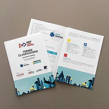 diseño folleto evento