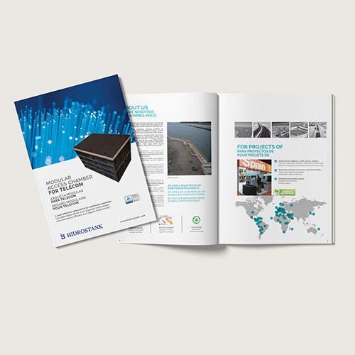 diseño y maquetación catálogo empresarial