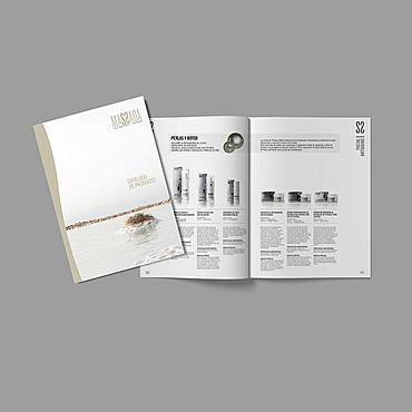 diseño y maquetación catálogo de producto