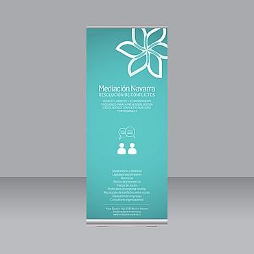 diseño roll up presentación empresa