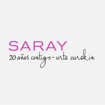 logotipo asociación saray